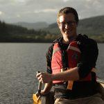 Will Millard canoeing