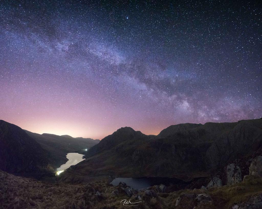 Ogwen Valley Milky Way View